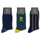 Набор модных носков из 3 пар