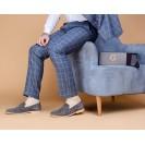 Мужские носки однотонные бежевого цвета