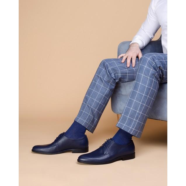 72f89c9f743 Мужские носки с ромбами синие купить в интернет-магазине носков ...